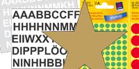 Etiketten Sticker und Aufkleber