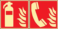 Brandschutzzeichen nach DIN EN ISO 7010 und ASR A1.3 (2013)