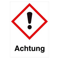 GHS-Symbol GHS07 Ausrufezeichen - Achtung 52 x 74 mm Einzeletikett