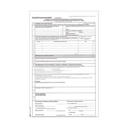 Ausfuhrkassenzettel UST privat 3-fach SD, Pack � 50 St�ck