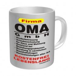"""9,7 cm hoch schwarz Tasse Kaffeebecher mit Motiv//Spruch /""""Oldtimer 60 Jahre/"""" ca"""