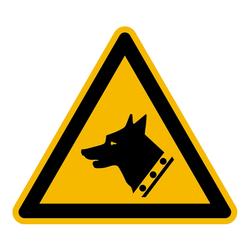 Warnung Vor Dem Wachhund Iso 7010 Aufkleber Shop