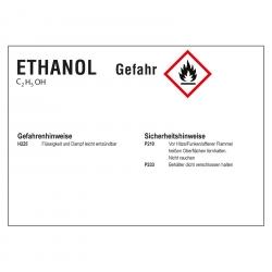 ghs kraftstoffetikett ethanol 74 x 52 mm aufkleber shop. Black Bedroom Furniture Sets. Home Design Ideas