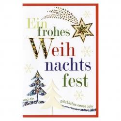 Weihnachtskarten Motive.Horn Weihnachtskarten Umschlag 1710 Farbiger Text Und Motive Mit