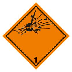 Aufkleber Warnschild Warnung vor Handverletzungen 5cm sl Folie 6 Stück