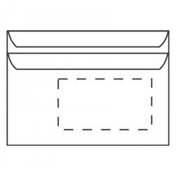 Briefumschlag Din C6 Mit Fenster Aufkleber Shop