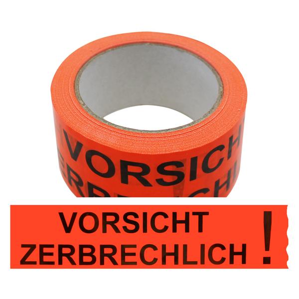 Vordruck Vorsicht Glas / Vorsicht Glas Klebeband Packband ...