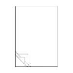 SD-Satz Wiegeschein Lieferschein blanko DIN A4 3-fach, Pack á 500 Satz