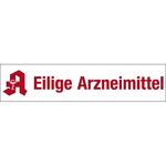 """Magnetschild """"Eilige Arzneimittel"""""""