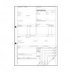 Speditionsauftrag Frachtbrief VDA Empfehlung 4922 5-fach SD Pack á 50 Stück