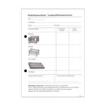 Palettenkontrollschein Palettenschein 4-teilig A5 Hochformat