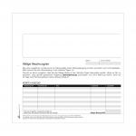 Mahnsatz Mahnung/Zahlungserinnerung 4-fach selbstdurchschreibend 25-er Pack
