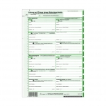 EDV Mahnbescheid neutral endlos 1 x 2 Blatt selbstdurchschreibend für alle Bundesländer 25-er Pack