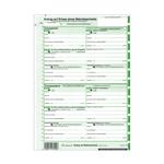 EDV Mahnbescheid neutral endlos 1 x 2 Blatt selbstdurchschreibend für alle Bundesländer 10-er Pack