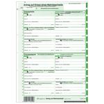 EDV Mahnbescheid neutral 2 Einzelblatt für Laserdrucker für alle Bundesländer 10-er Pack