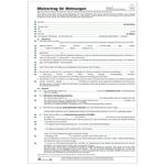 Mietvertrag für Wohnungen 6 Seiten im 10er Pack