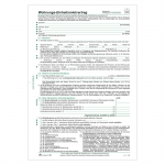 Einheits-Mietvertrag 4 Seiten DIN A4