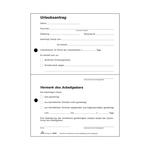 Urlaubsantrag-Block DIN A5 SD