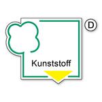"Recycling-Schild ""Kunststoff"""