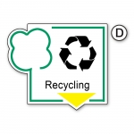 "Recycling-Schild ""Recycling"""