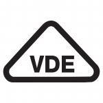 VDE-Elektronik Prüfzeichen aus Folie