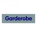 "Türhinweisschild ""Garderobe"" Kunststoff selbstklebend 160 x 40 mm"