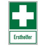 """Hinweisschild """"Ersthelfer"""""""