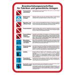 Brandverhütungsvorschriften für Fabriken und gewerbliche Anlagen