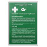 Erste Hilfe bei Chlorgasvergiftungen aus Aluminium