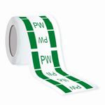 Kennzeichnung von Trinkwasserleitung - PW - Aufkleber