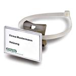 Quick Schilderhalter mit Schnellverschlussband