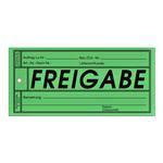 """Anhänge-Etiketten Qualitätssicherung """"Freigabe"""""""