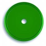 Markierungsplakette grün Ø 40 mm gelocht