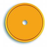 Markierungsplakette gelb Ø 40 mm gelocht