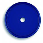 Markierungsplakette blau Ø 40 mm gelocht