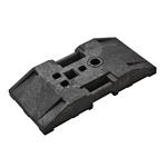 TL-Fußplatte nach K1 800 x 400 mm Schilderfuß