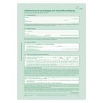 Arbeitsvertrag für geringfügig und Teilzeit-Beschäftigte DIN A4