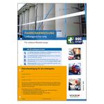 10er Pack Fahreranweisungen Ladungssicherung für schwere Nutzfahrzeuge