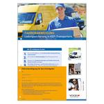 10er Pack Fahreranweisungen Ladungssicherung in KEP-Transportern