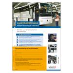 Fahreranweisung Abfahrtkontrolle Omnibus