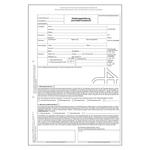 Abtretungserklärung und Unfall-Kurzbericht DIN A4 2-fach SD im 100er Pack