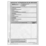 Beförderungs- und Begleitpapier für den Werkverkehr - neutral DIN A5 Block mit 100 Blatt
