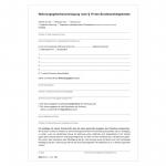 Wohnungsgeberbescheinigung 2 Seiten DIN A4