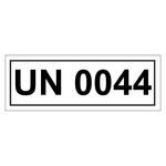 UN-Verpackungskennzeichen mit UN 0044