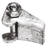 Spannschloss für Schellenband aus feuerverzinktem Stahl