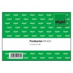 Sigel® Postkarten-Heft, A6 , 10 Blatt