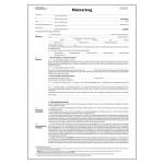 Sigel® Mietvertrag ehemals Einheitsmietvertrag - A4, 4 seitig