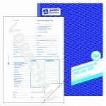 Avery Zweckform® 506 Lohnabrechnung für geringf. Beschäftigte, DIN A4, vorgelocht, 50 Blatt/10 Stück, weiß