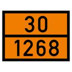 Warntafel orange mit 30-1268