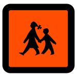 Schulbusschild